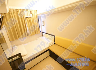Cheap Hong Kong hotel room in Sincere house